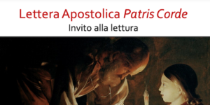 """""""Patris Corde"""" Invito alla lettura"""
