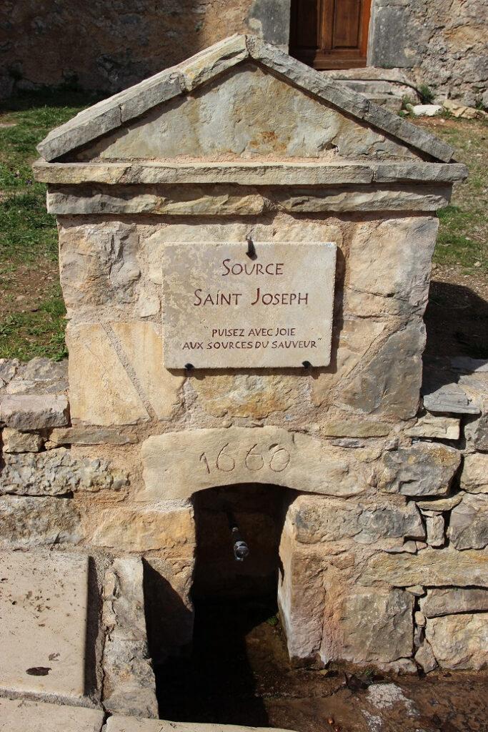 Sanctuaire Saint Joseph du Bessillon, Cotignac (Francia)
