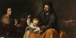 Bartolomé Esteban Murillo, Sacra Famiglia col cagnolino
