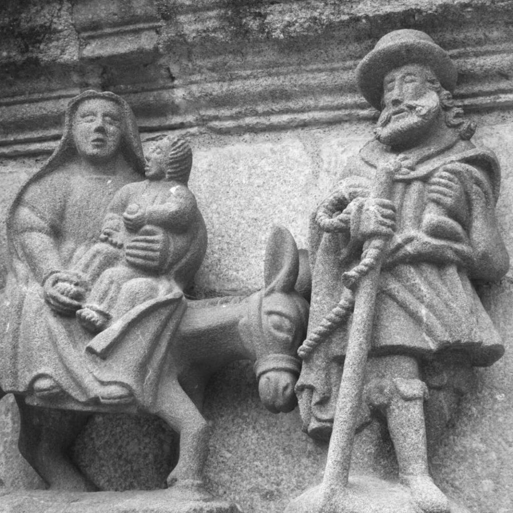 alvario monumentale bretone di Saint-Thégonnec